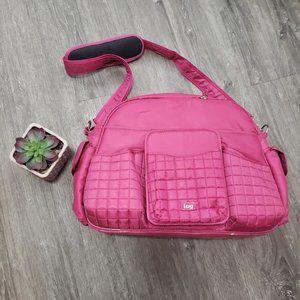 Lug Tuk Tuk Pink Diaper Bag Tote Fuchsia